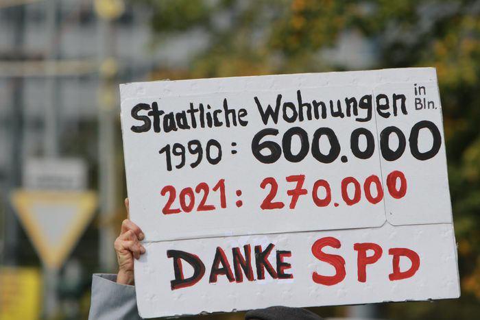 Demonstration - Wohnraum für ALLE!