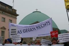 OMAS GEGEN RECHTS BERLIN - Für ein würdiges Gedenken - gemeinsam mit dem Bündnis für ein weltoffenes und tolerantes Berlin - Mitmachaktion