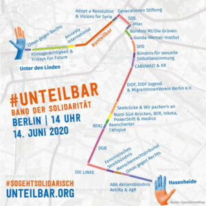 Unteilbar-Route