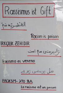 Rassismus ist Gift